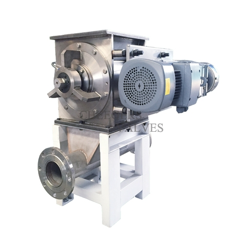 Stainless Steel Drop-through Rotary Valve